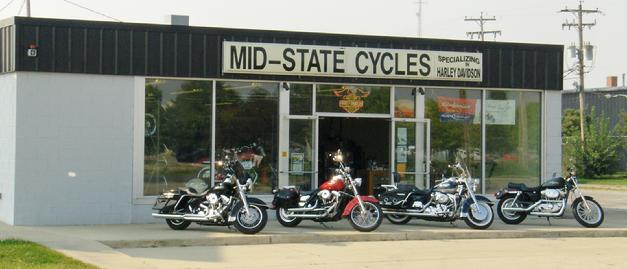 Mid-State Cycles Store Front